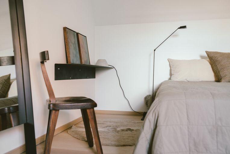 Decoratrice Bea Mombaers richtte haar B&B in Knokke in met veel vintage en een neutraal kleurenpalet.  Beeld RV