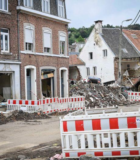 La liste des maisons sinistrées qui seront démolies à Pepinster a été définie