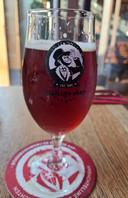 Een Deftige Aap dubbel, het favoriete biertje uit de brouwerij.