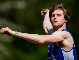 Jente Hauttekeete wil in Oordegem sterke prestaties zien in het discuswerpen en op de 110m horden
