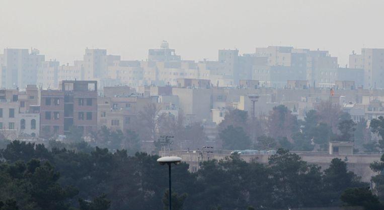 Beeld van Teheran. Beeld anp