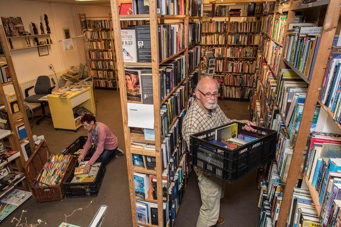 Tweedehands boekenwinkel De Boekenlegger heeft de 250.000 Euro bereikt.