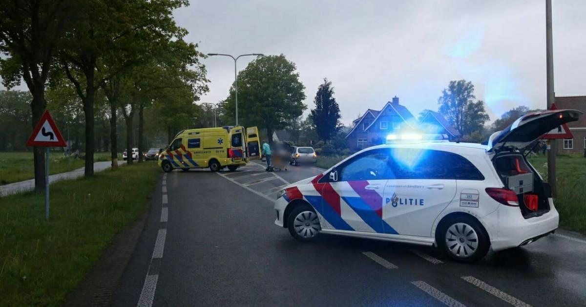 Automobilist overleden bij ernstig ongeval op Eemshavenweg N46 nabij Zuidwolde.