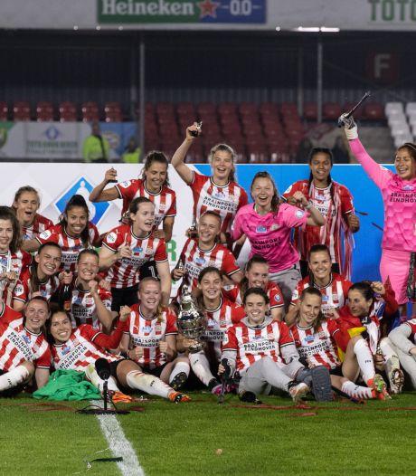 Deurnese Aniek Nouwen neemt na vijf seizoenen afscheid van PSV met een prijs