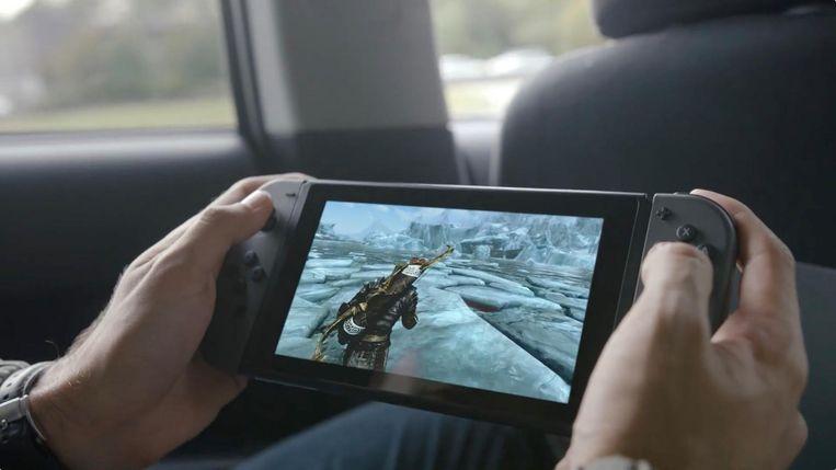 Onderweg doorspelen met waar je thuis aan begonnen bent: het kan met Switch.  Beeld Nintendo