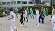 Video. Jerusalema dance challenge bij Vilvoords ziekenhuis
