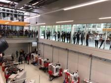 Koning Willem-Alexander bij BIC Eindhoven voor officiële opening