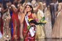De Mexicaanse Andrea Meza wordt uitgeroepen tot Miss Universe.