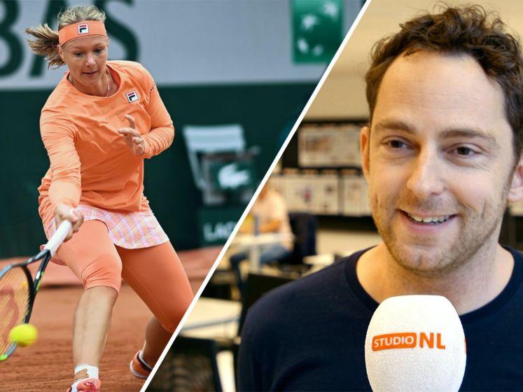 Bertens moeizaam naar winst in eerste ronde Roland Garros