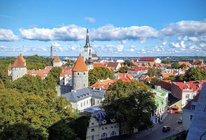 Oude stad van Tallinn.