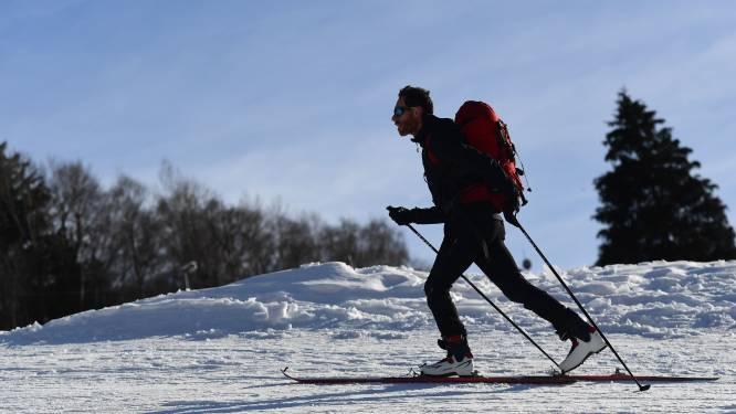 Noorse man probeert al skiënd zijn quarantaine te ontlopen
