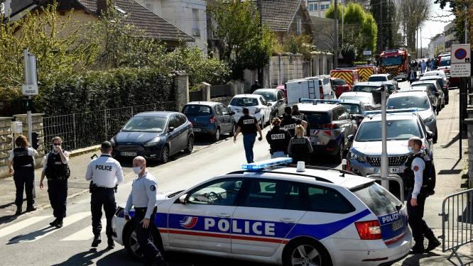"""Dader die politieagente de keel oversneed bij terreuraanval buiten Parijs riep """"Allah Akbar"""""""