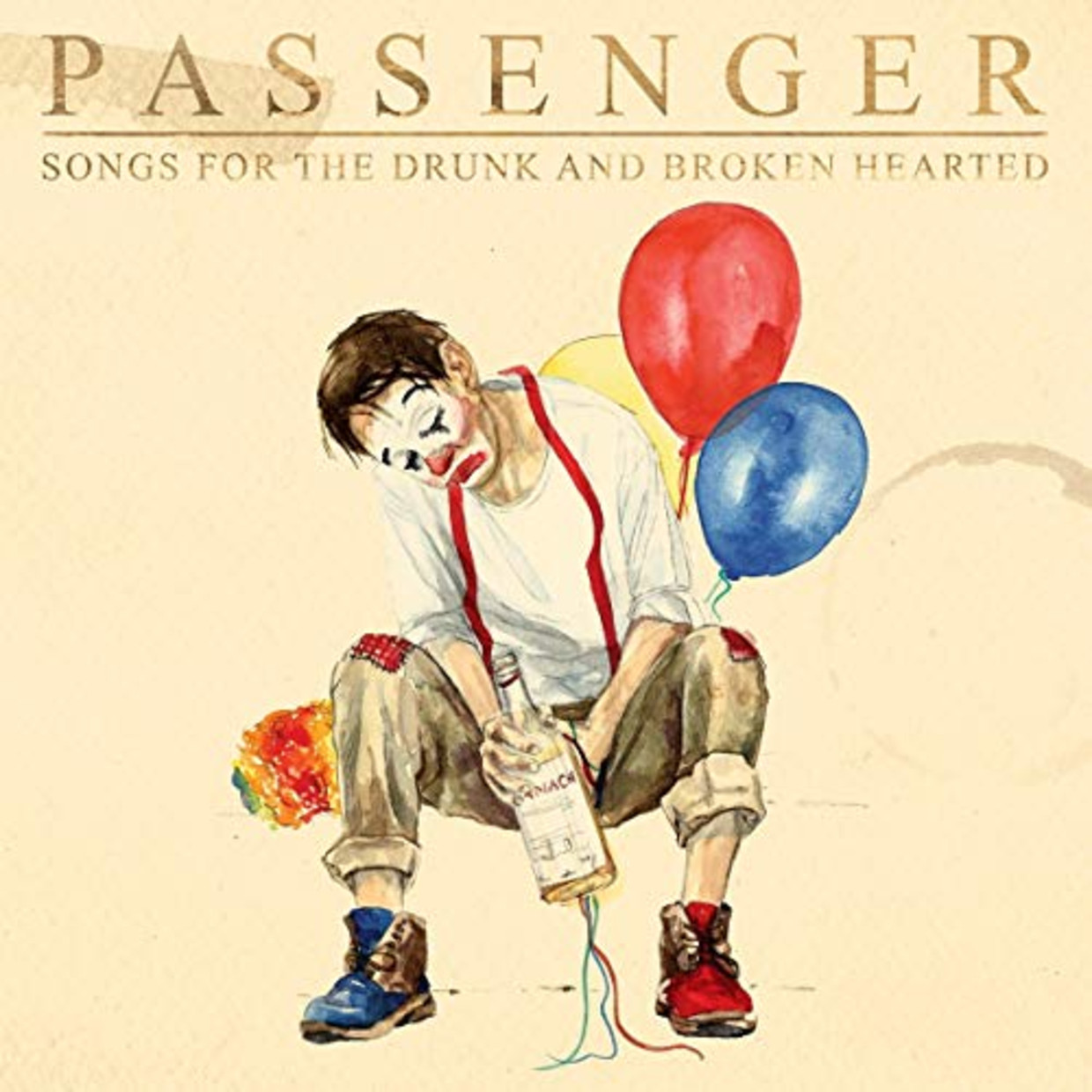 PASSENGER Songs for the Drunk and Broken Hearted Beeld Humo