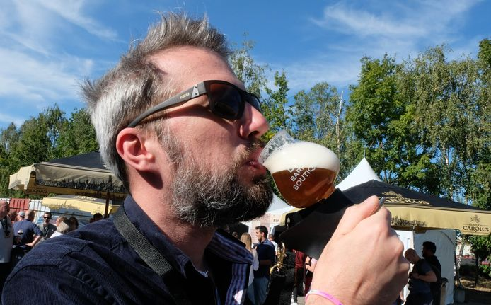 Bij bierliefhebber Kurt Van den Nieuwenhuysen valt het nieuwe festival in de smaak