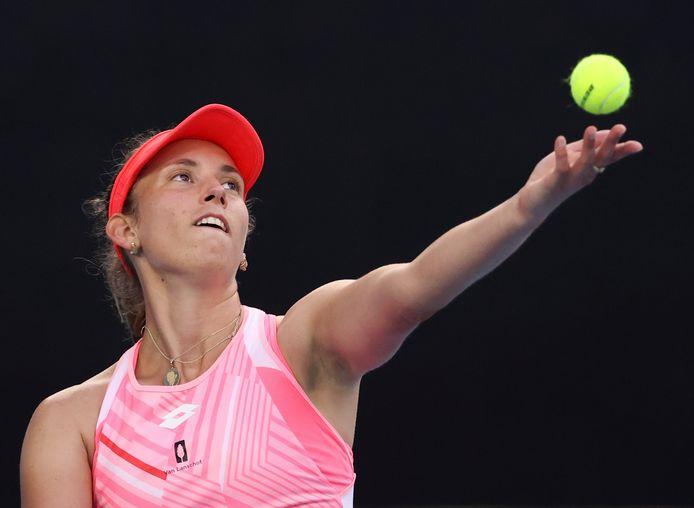 Éliminée en simple, Elise Mertens tentera de se consoler en double, avec un quart de finale à suivre.