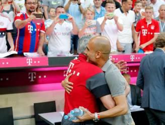 Guardiola op luid gejuich onthaald in 'zijn' Allianz Arena