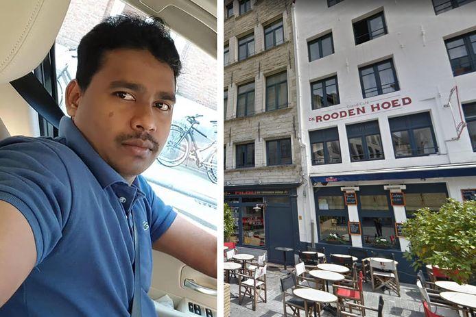 Vikki Sa Vikky uit Vrasene was al meer dan vijf jaar de chef bij Grand Café De Rooden Hoek op de Oude Koornmarkt in Antwerpen.