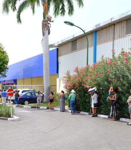 Weer protesten op Curaçao tegen regering