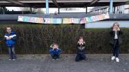 """Kinderen Gilo Balegem hebben mooie boodschap: """"Draag zorg voor elkaar"""""""