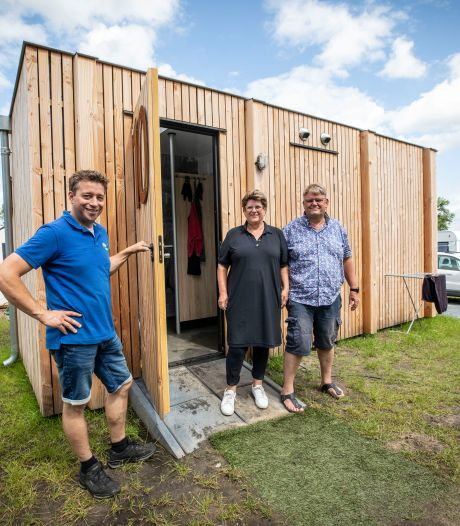 In je eigen bubbel op camping De Witte Berg in Nutter: 'Het is de toekomst'