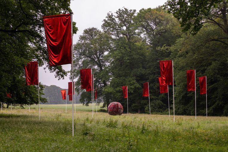 Farkhondeh Shahroudi, 'Performative Poetics of Matter' (2021) Beeld Django van Ardenne