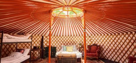 Wegdromen in je yurt op 'theatrale stadscamping' bij Nimmendor; alleen de vergunning ontbreekt nog