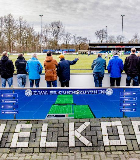 Roemruchte voetbalclub Be Quick uit Zutphen kan dankzij gemeente weer naar de toekomst kijken