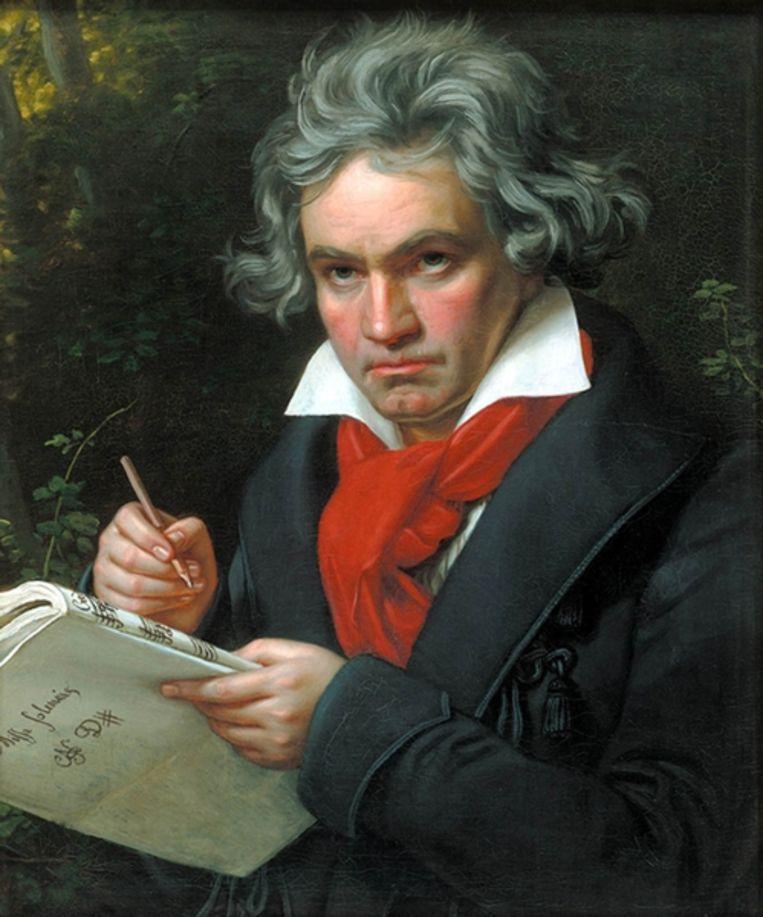 Ludwig van Beethoven Beeld Getty Images
