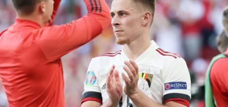 Thorgan Hazard ne fera pas le voyage à Saint-Pétersbourg pour le match contre la Finlande
