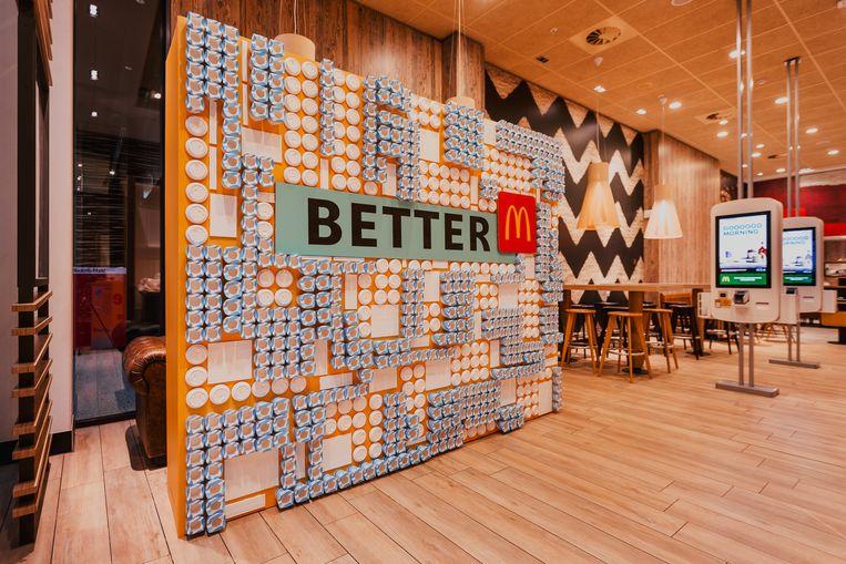 McDonald's streeft naar duurzaamheid. Beeld McDonald's