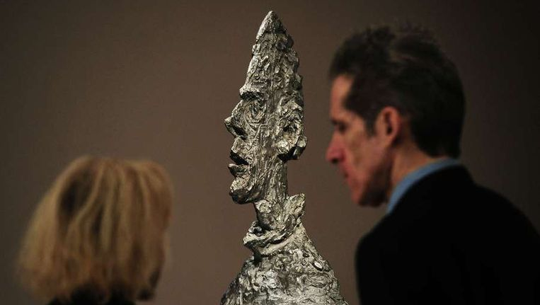 'Grande tête mince' of 'Large thin head'. Beeld AFP