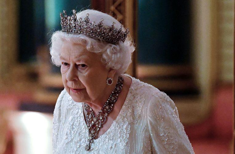 Queen Elizabeth II Beeld AFP