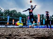 Eredivisie beachvolleybal bij zonsopgang: 'Het is een beetje als spelen met jetlag'