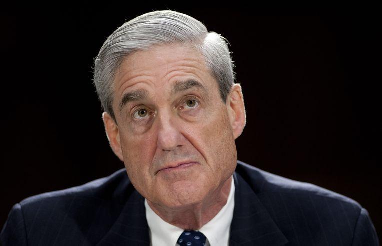 Speciaal aanklager Robert Mueller. Beeld AFP