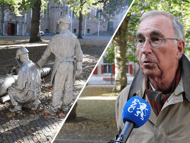 Zo verloedert het Abdijplein in Middelburg