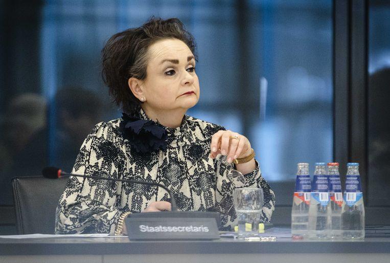 Demissionair staatssecretaris van Financiën Alexandra van Huffelen. Beeld ANP