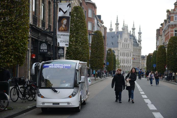 Weekend van de klant in de Leuvense binnenstad, met tal van speciale acts