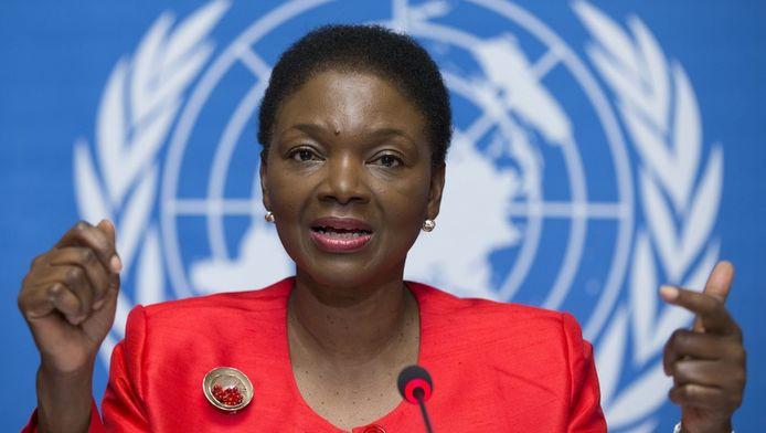 Ondersecretaris-generaal van de VN voor humanitaire zaken, Valerie Amos.