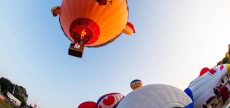 Wie in de lente omhoog kijkt ziet luchtballonnen... Máár jij mag helemaal niet mee
