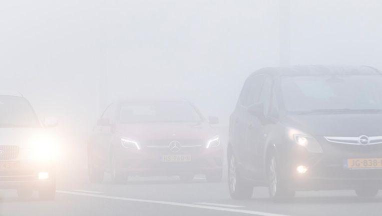 Er wordt dichte mist verwacht. Beeld anp