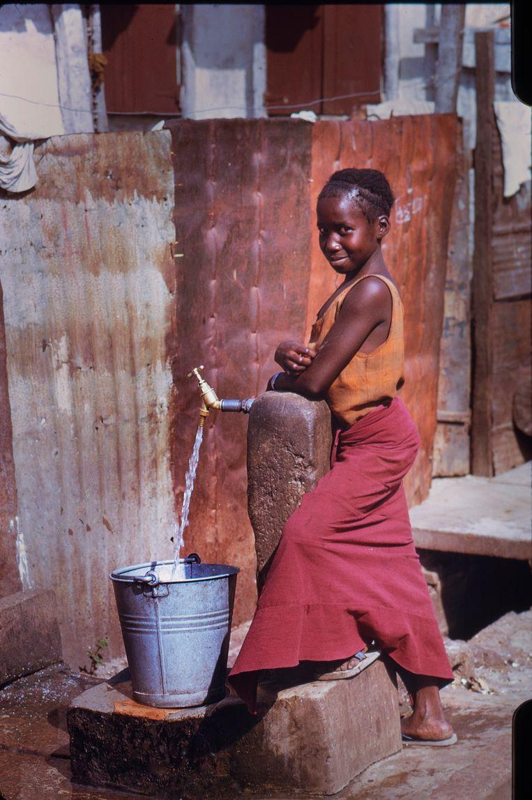 Gambia, 1975. Beeld Eddy Posthuma de Boer