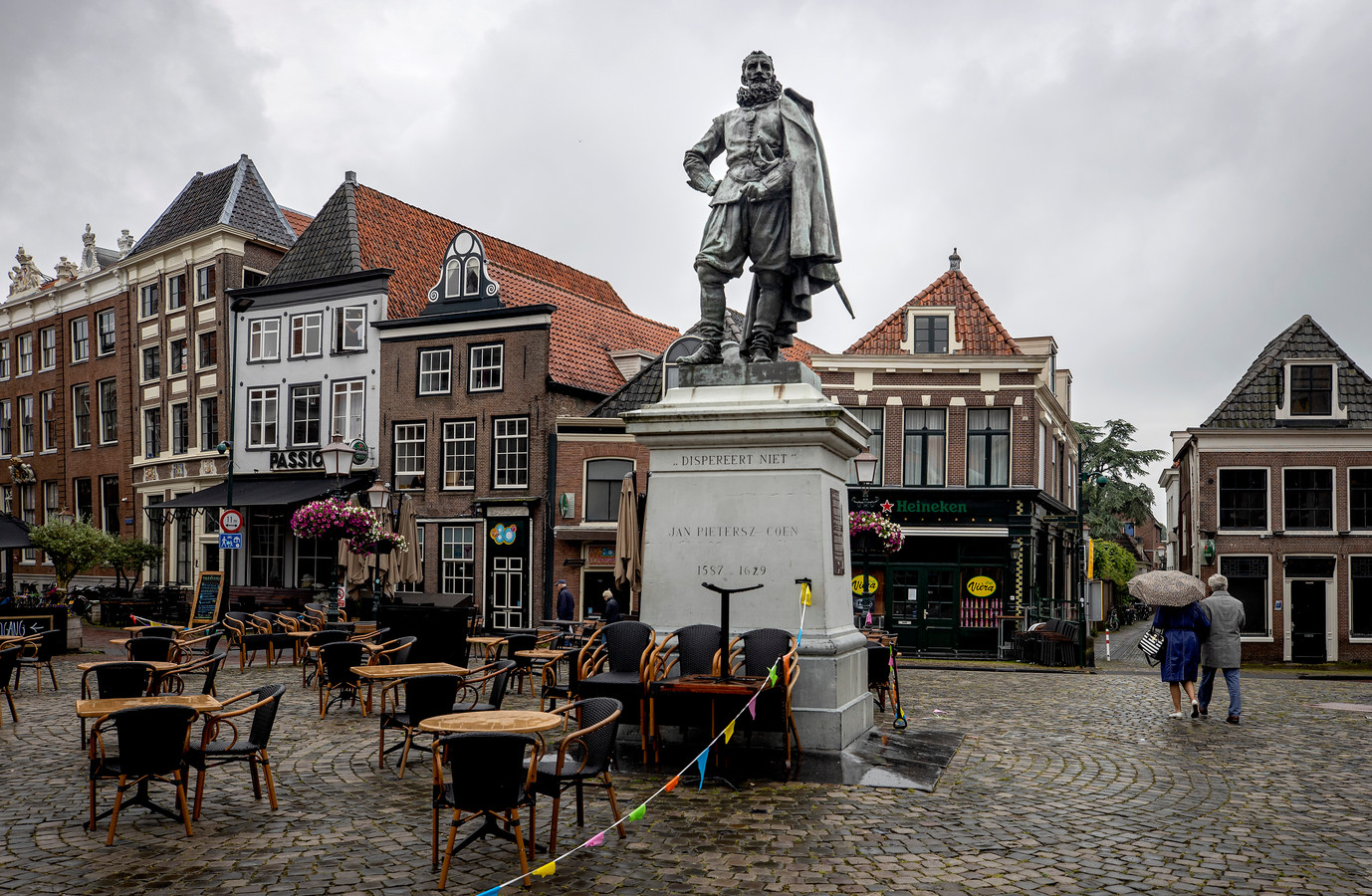 Standbeeld van Jan Pieterszoon Coen.