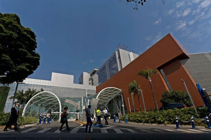 Het Einstein-ziekenhuis in Sao Paulo.
