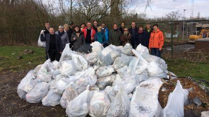 Vrijwilligers zamelen 1,2 ton zwerfvuil in