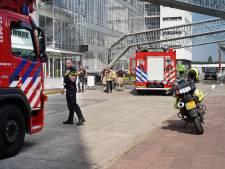 Brandje in de Van Nelle Fabriek: 180 mensen naar buiten door rook in het pand