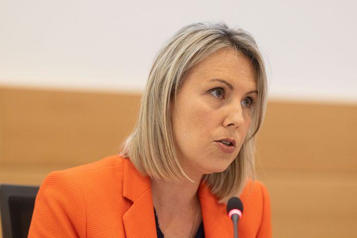 La ministre de la Défense Ludivine Dedonder.