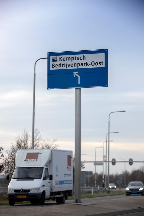 Het Kempisch Bedrijvenpark in Hapert.