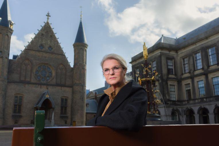Wouke van Scherrenburg in De strijd om het Binnenhof. Beeld Wim Kluvers