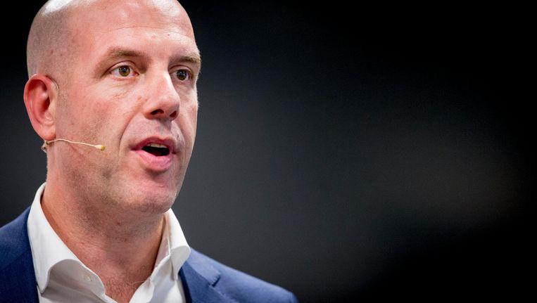 Secretaris-generaal van de KNVB Gijs de Jong Beeld anp