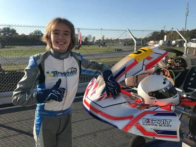 Racemonster Joep Breedveld (13) scheurt het liefst met 120 kilometer per uur ove ...